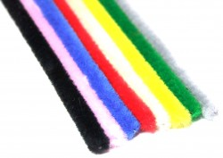 Chenille Polyester Pipe Cleaners | Hewitt & Booth