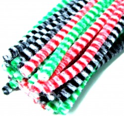 Two Colour Pipe Cleaners | Hewitt & Booth