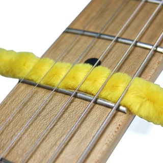 Musical Instrument Care, Cleaning Musical Instrument, Musical Instrument Maintenance, Pipe Cleaner Cleaning a Guitar