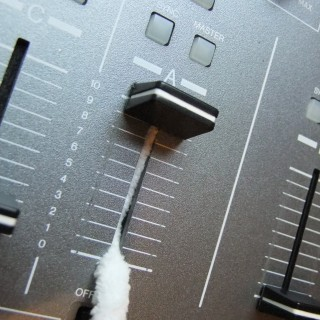 Cleaning inside a mixing desk, how to get dust out of DJ equipment, professional studio cleaning solutions