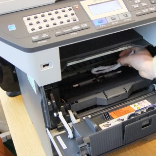 Printer Maintenance, How to Clean A Printer, Removing Ink Residue from the Drum of a Printer, Flexistem Cleaners, Pipe Cleaner Uses