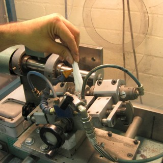 Industrial Machinery Fine Bore Cleaning using Pipe Cleaners and Flexistems.