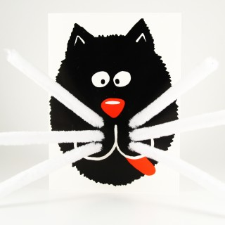 ZZDesigns use our pipe cleaners to create unique 3D greetings cards designs