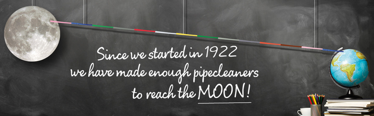 To The Moon and Back in Pipe Cleaners | Hewitt & Booth