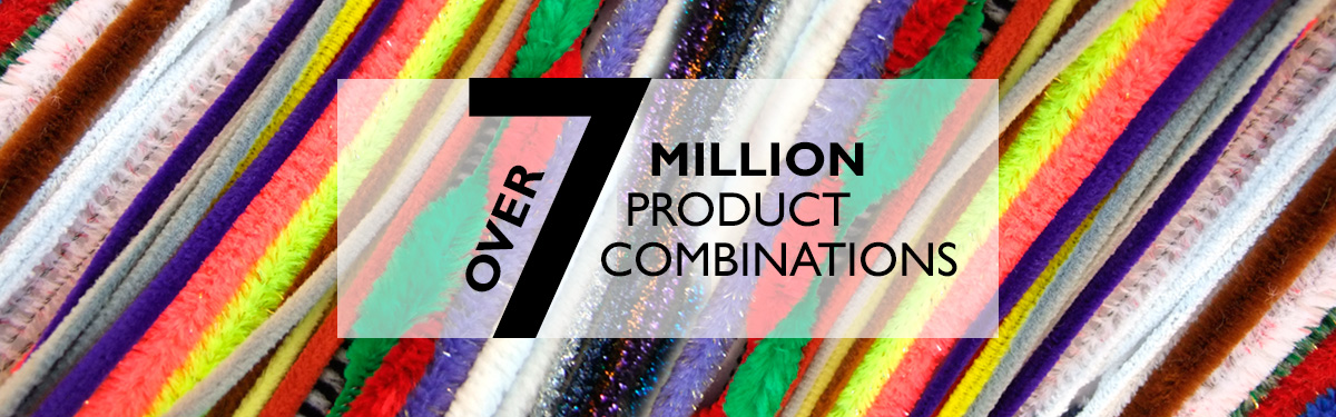 Over 7 Million Combinations of Pipe Cleaners | Hewitt & Booth