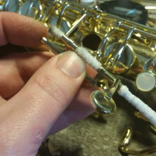 musical instrument cleaning